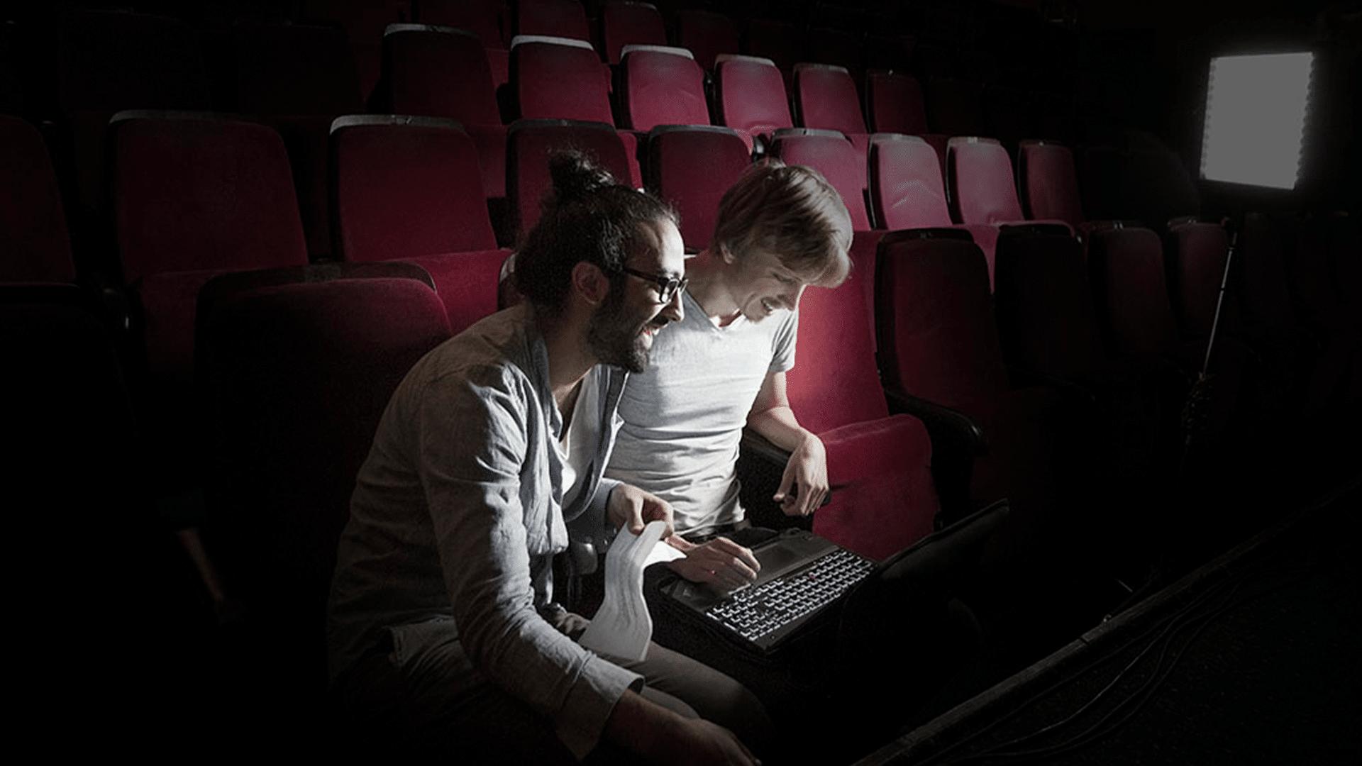Omar & Robert – regie_webseite